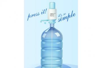 Ръчна помпа за бутилирана вода  Модел AQUA NOVA MAX